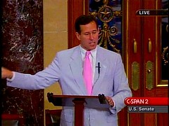 Santorum on the Senate Floor