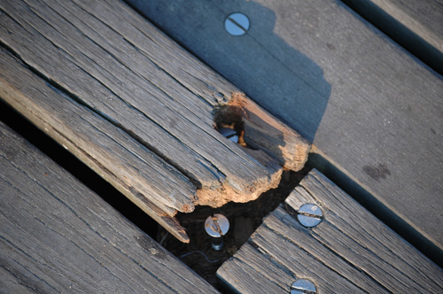 Broken Boardwalk