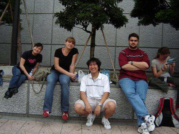 Sendai: w grupie raźniej