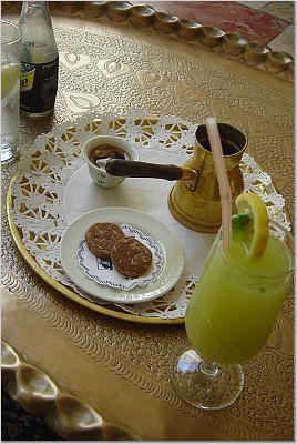Coffee & lemonade