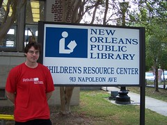Jeff Bostick, Children's Resource Center, New Orleans Public Library