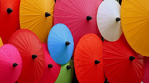 United colours of Umbrella's