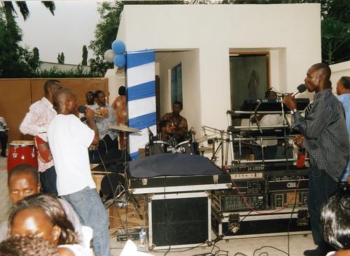 Highlife musicians combo