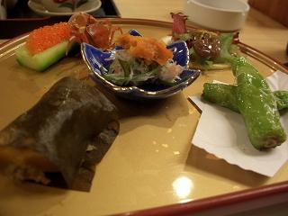 20060410 有馬鉄板焼き 前菜