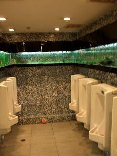 20060411 好彩海鮮酒家 トイレが水槽