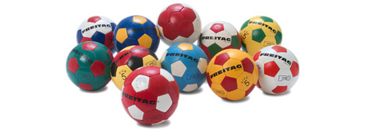 Freitag Footballs, Freitag, Shipping Container Store, Recycled Truck Tarpaulins, Recycled Design, Recycling in Design, Recycling in Architecture, Zurich, Green Design, Soccer, World Cup, Patriotic Footballs