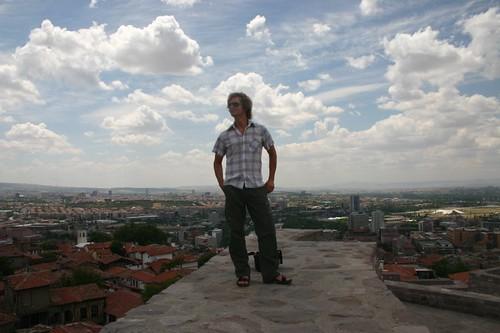 From the Ankara Castle...