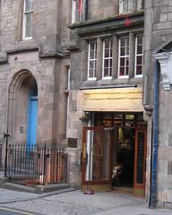 Entrance to the Dragonfly bar, Edinburgh