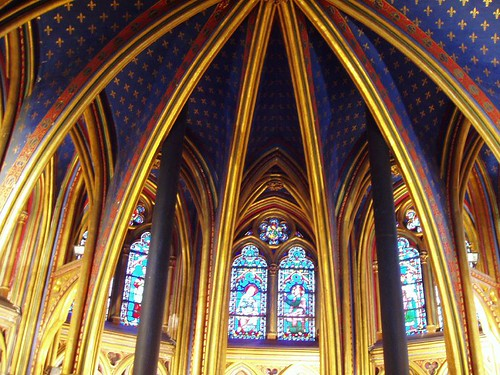 Saint Chappelle downstairs