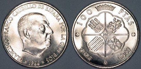 100pesetas19666
