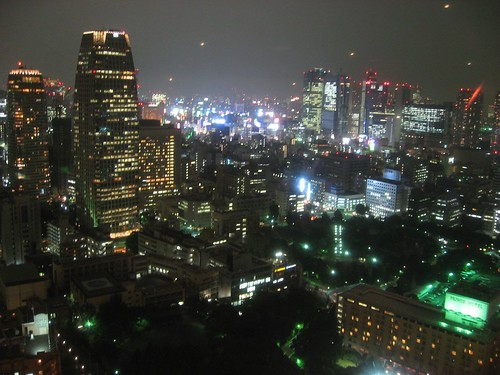 Neon World - A view from the Tokyo Tower
