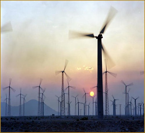 Wind Farm - Photo by National Renewable Energy Lab