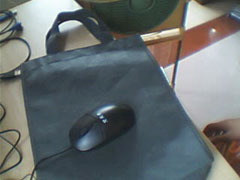 mouse and  mouse mat