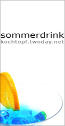 Blog-Event XV: Sommerdrink