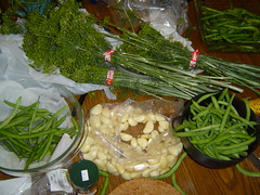Pickled bean ingredients