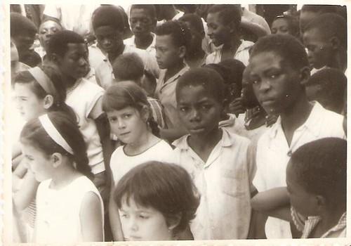Escola em Bata(Guinea)
