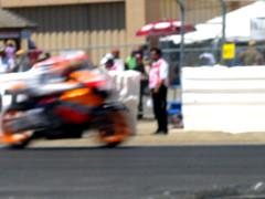 nicky hayden's a blur