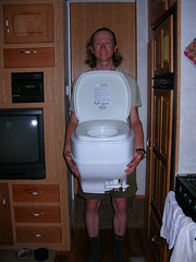 A Man and His Toilet