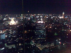 A view of the Bangkok skyline from Vertigo