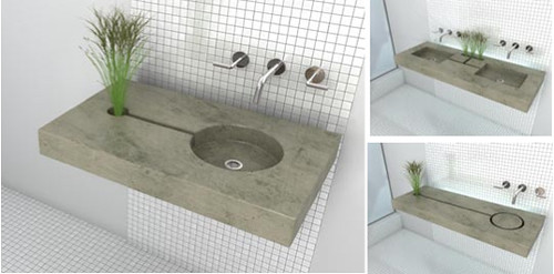 Fabulously Green: Gau Designs: Zen Garden Sinks