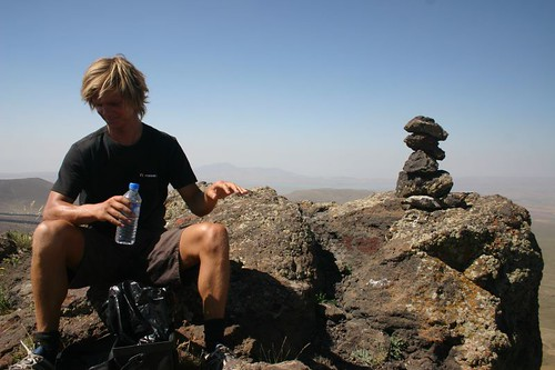 On top of Mount Nemrut (3050 m)...