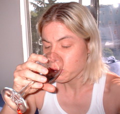 sipping Merlot on a Saturday afternoon