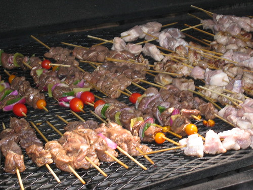 all kabobs