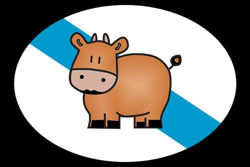 Bandeira-Galega-Vaca-Marela