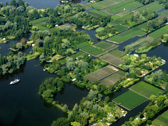 Netherlands, Holland, aerial photo, water landscape, Jill Fehrenbacher