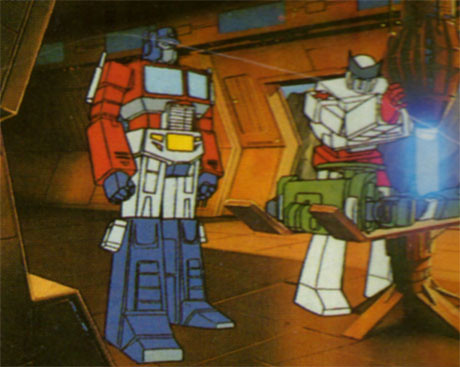 transformers cartoon
