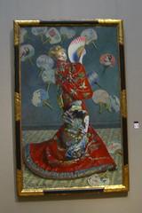 La Japonaise by Monet