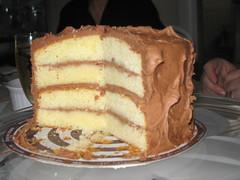 Dufflet's Belgian Chocolate Cake