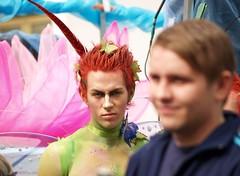 Gay Pride Reykjavik 2006 - Evil look ;-)