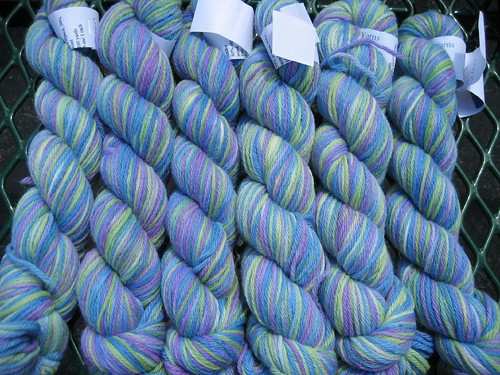 Seacoast Handpainted Yarns alpaca/wool in Ocean