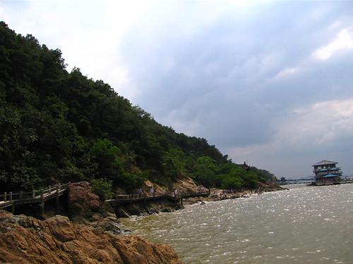 鹅鼻嘴公园沿江小道