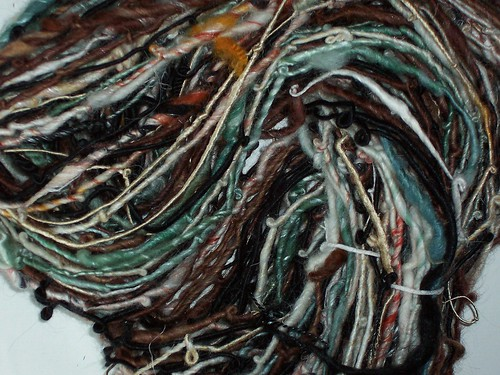 linda scharf handspun yarn/stoneleafmoon.com