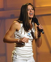 American Idol contestant Ayla Brown