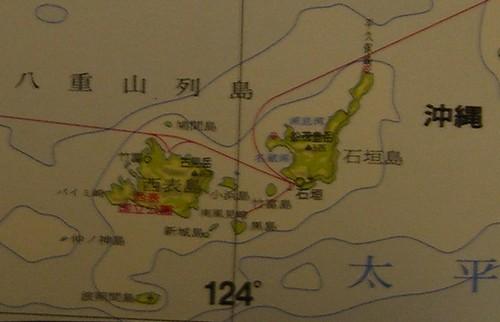 Mapa de Ishigaki e Iriomote