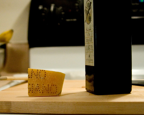 Step 10: Acquire some Parmigiano Reggiano