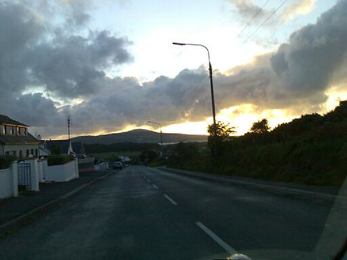 Driving South on the N56, Co. Donegal