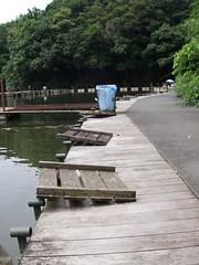 閑古鳥の北桟橋.JPG
