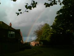 Rainbow over Withington