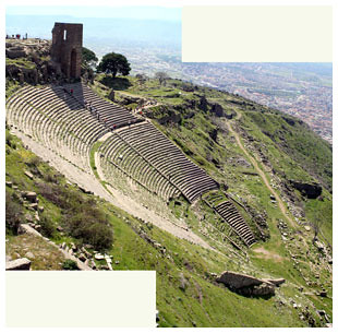The Theater at the Pergamum Acropolis