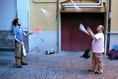 Juggling al BzaarCamp, foto di Vanz