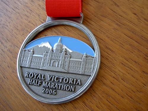 Royal Victoria Half Marathon Medal