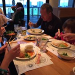 Tucking in to Wagamamas<br/>17 Jan 2015