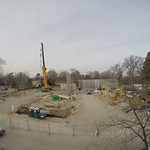 Construction site as of January 2, 2015.