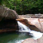 Find amazing waterfalls in Franconia Notch this weekend!
