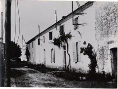 18 - Avril 45- Le Bm2 devant Royan- une rue de chay villlage aux avant postes du Bataillon- Fonds Amiel
