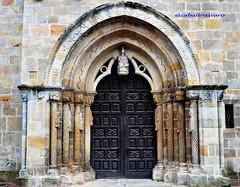356 - Portada - Iglesia Santa María de la Oliva - Villaviciosa (Asturias) - Spain. photo by ELCABALLOALVARO